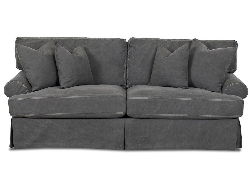 Klaussner LahoyaSlipcover Sofa