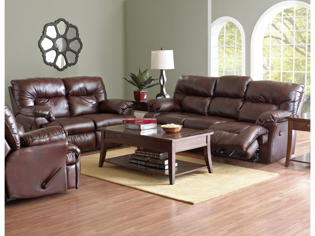 Shown with Reclining Loveseat and Sofa