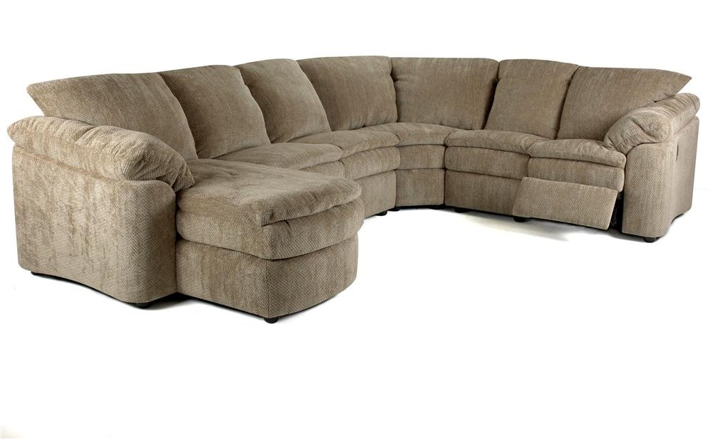 Klaussner LegacyRA Reclining Loveseat and Chaise Sectional