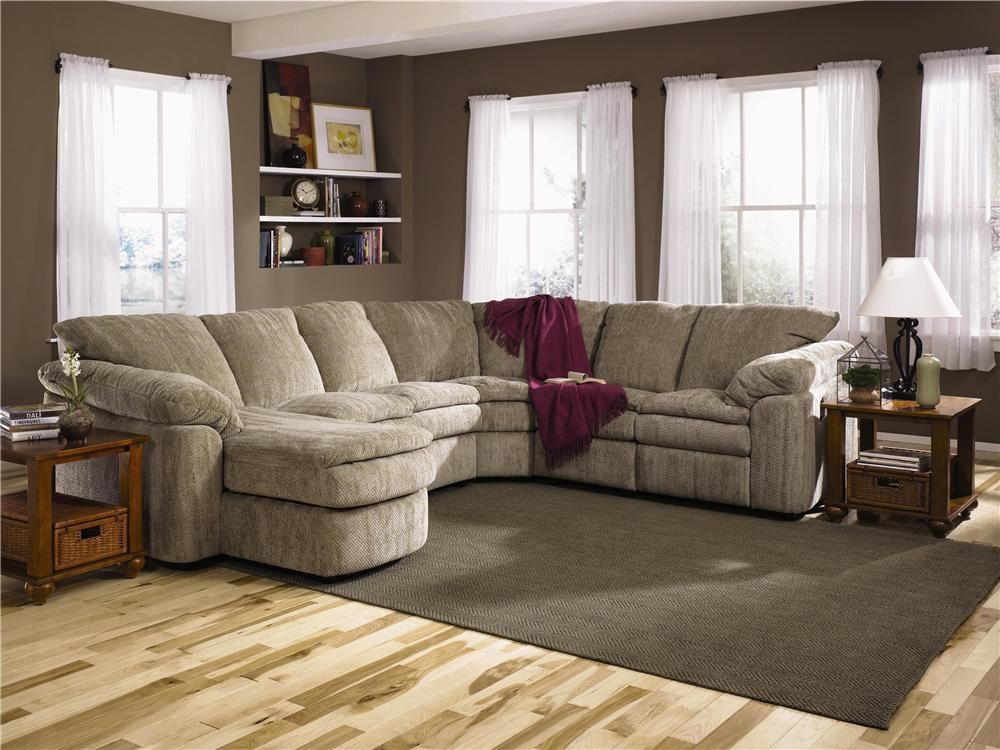 Klaussner Legacy Right Arm Reclining Loveseat and Left Arm Chaise
