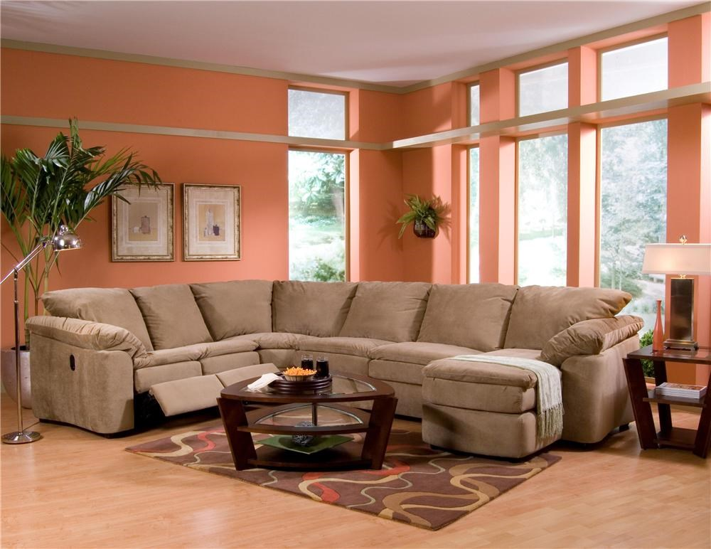 legacy dual reclining left arm loveseat sleeper and right arm chaise sectional by elliston place