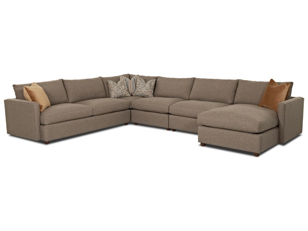 Klaussner LeisureSectional Sofa