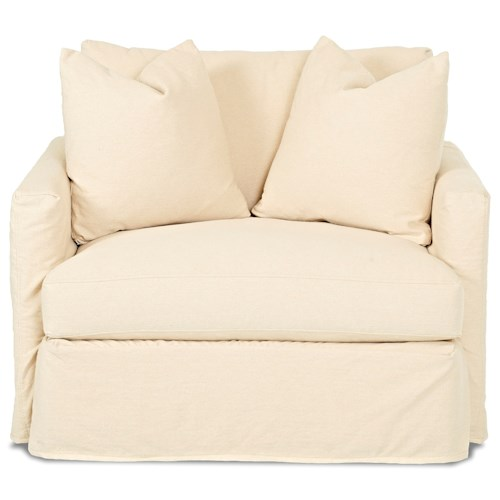Klaussner Leisure Chair with Slipcover