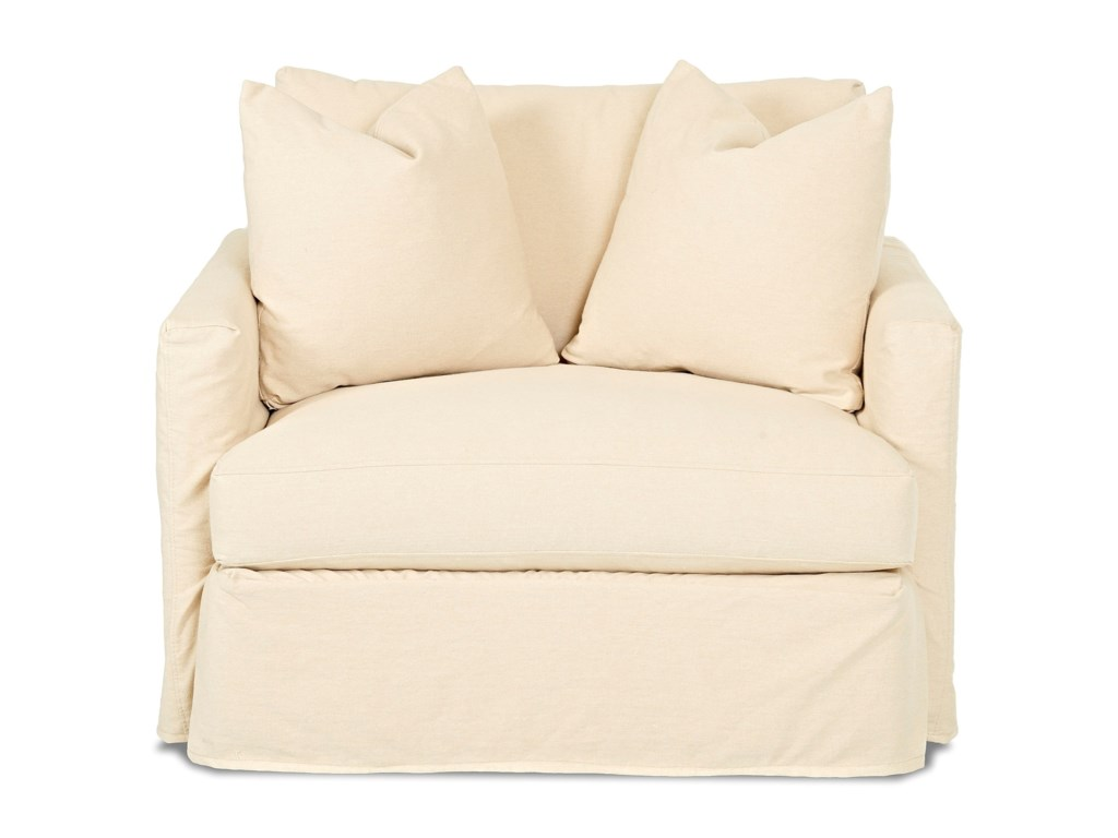 Klaussner LeisureChair with Slipcover