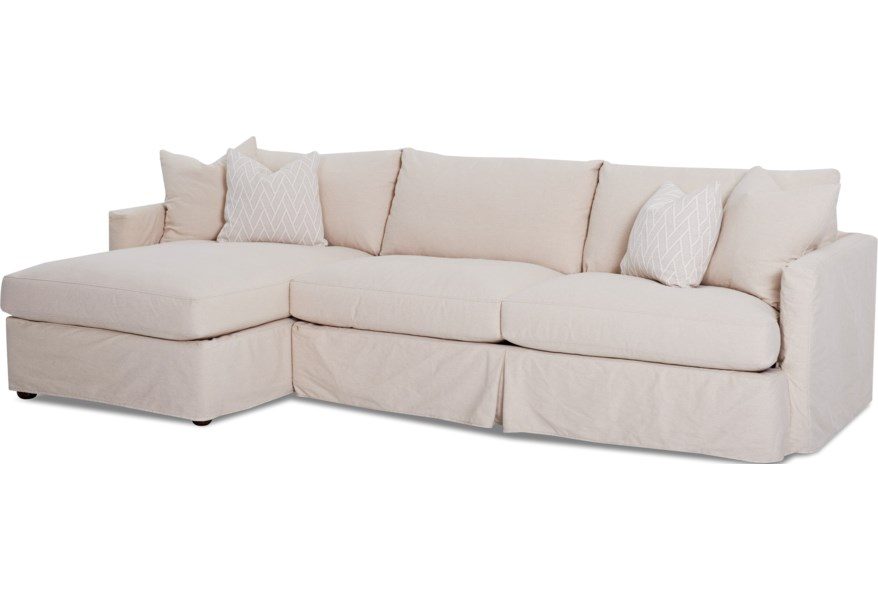 Klaussner Leisure 2 Pc Sectional Sofa