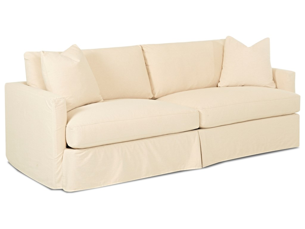 Klaussner LeisureExtra Large Sofa with Slipcover