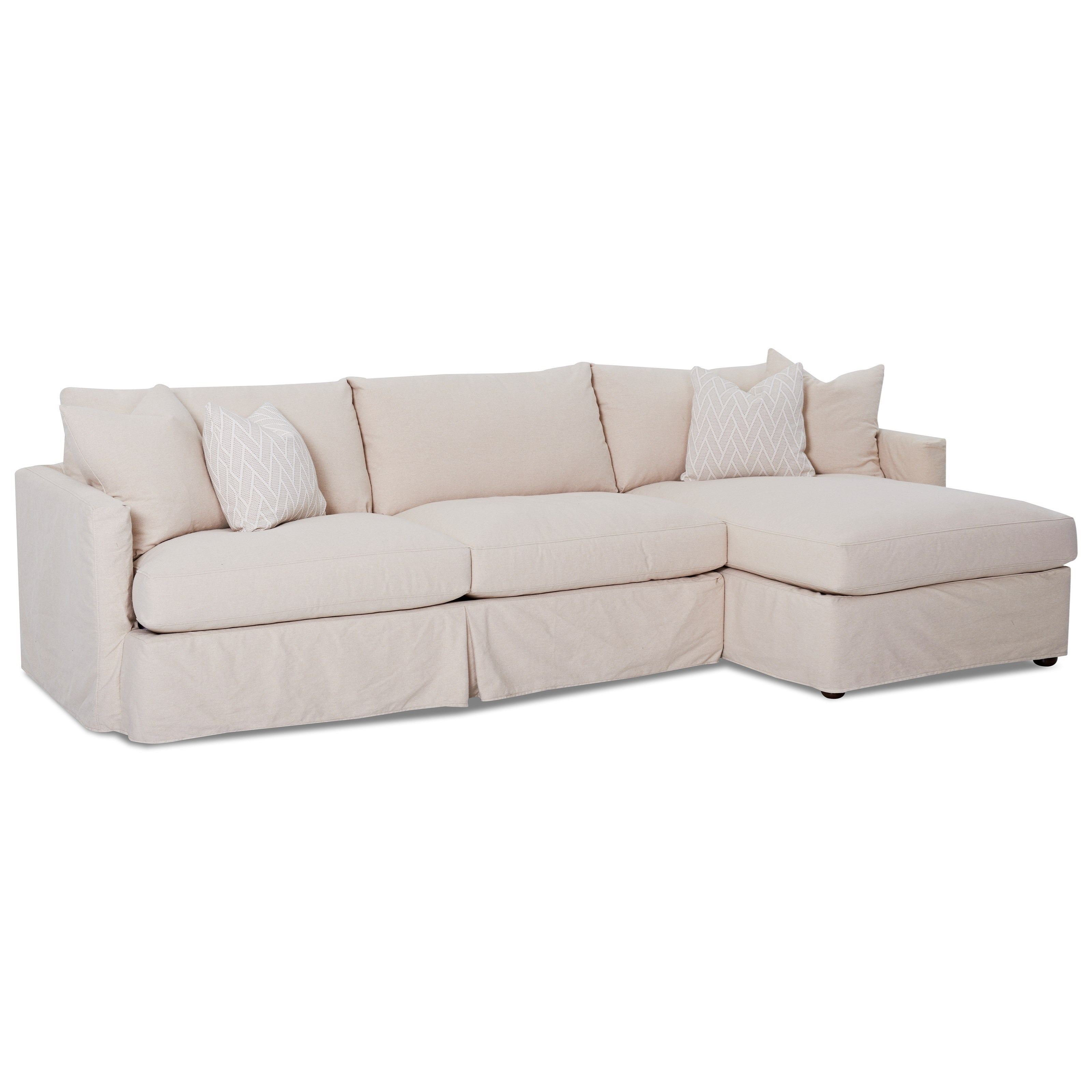 Elliston Place Leisure2 Pc Sectional Sofa With Slipcover