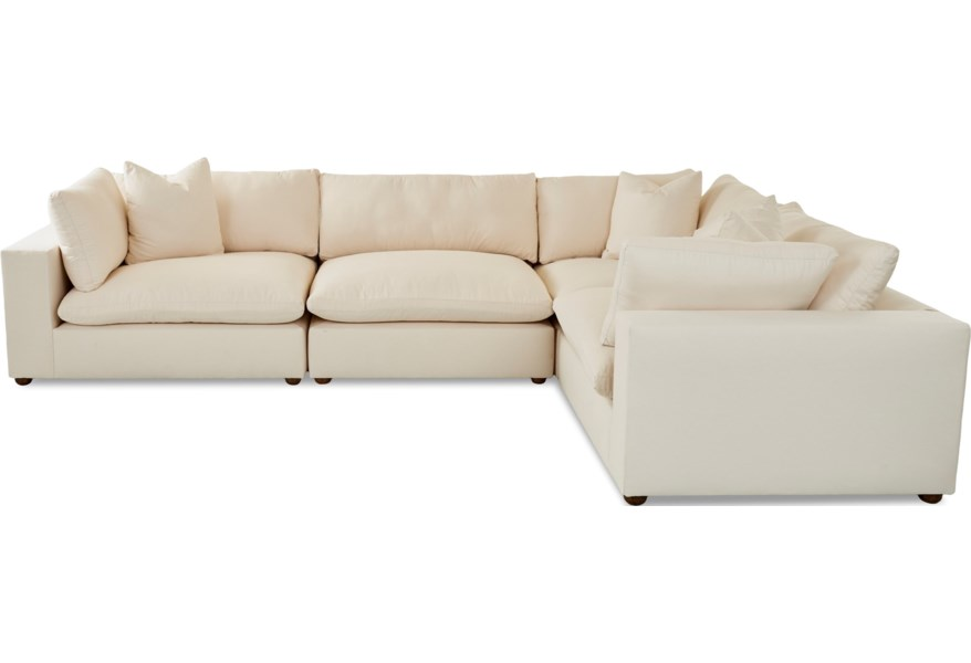 Lenny 4 Pc Sectional
