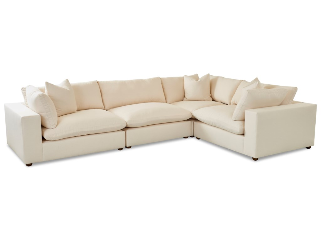 Klaussner Lenny4 Pc Sectional