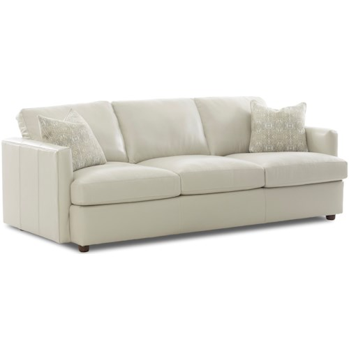 Klaussner Liberty Contemporary Extra Large Sofa