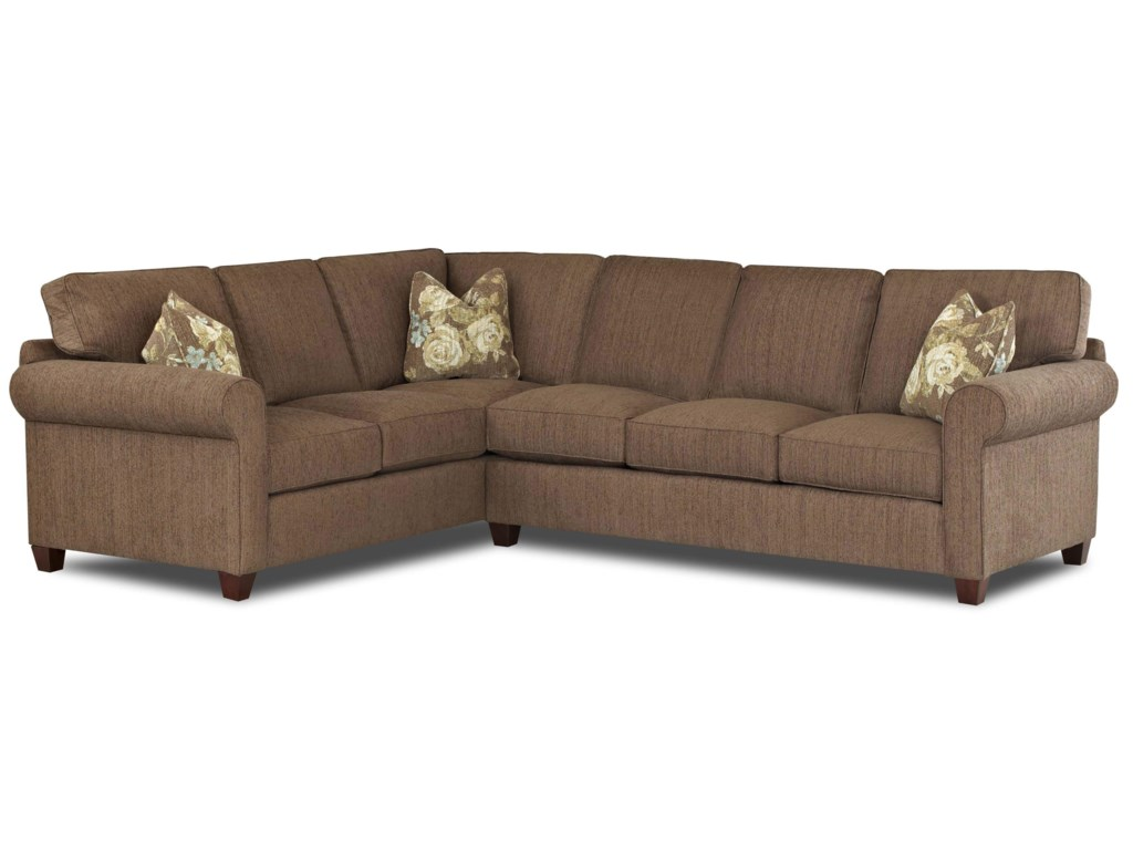 Klaussner Lillington Distinctions Sectional Sofa