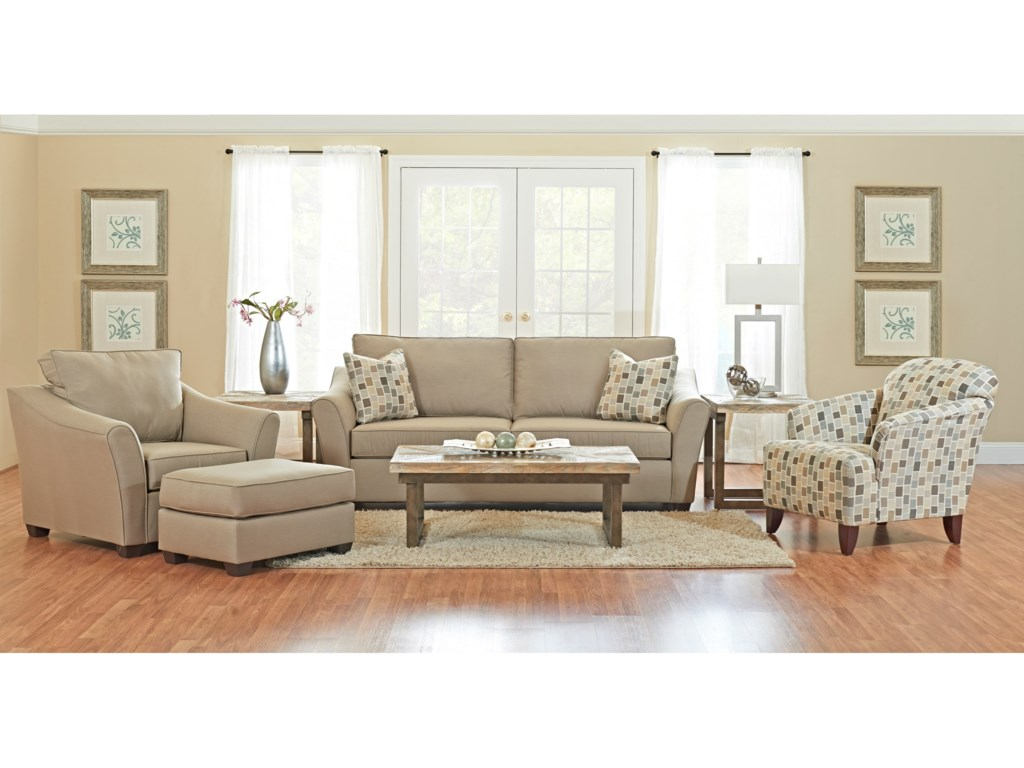 Klaussner LinvilleLiving Room Group