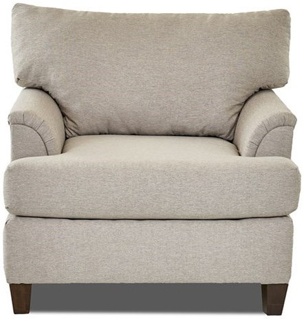 Klaussner Lisa Transitional Customizable Living Room Chair