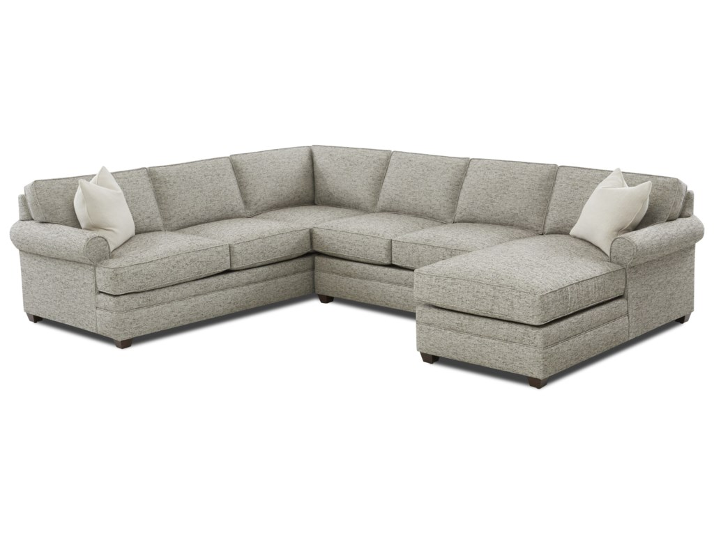 Klaussner Living Your Way3-Piece Sectional