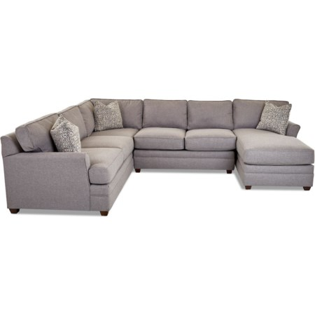 3-Piece Sectional Sofa w/ RAF Chaise