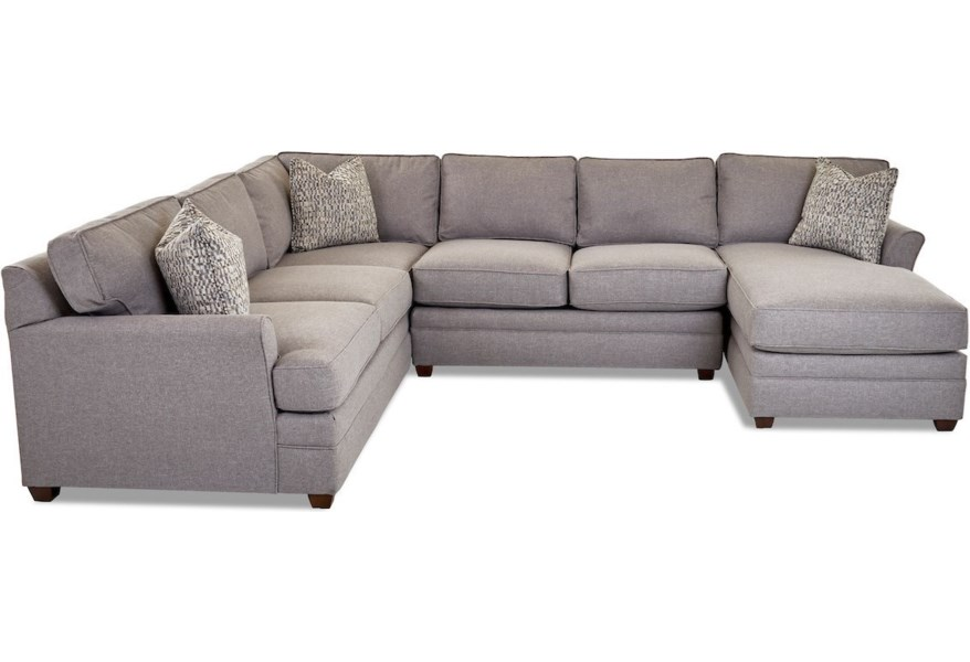 Klaussner Living Your Way K8222L CRNS+ALS+R CHASE-Macc Grey