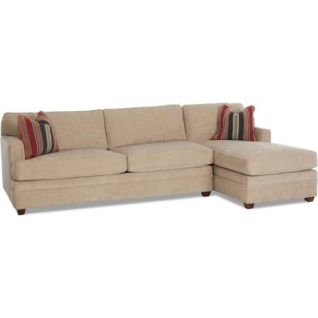 2-Piece Sectional w/ LAF Dreamquest Sleeper
