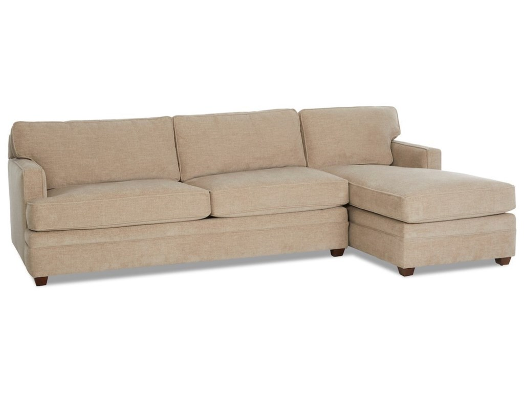 Klaussner Living Your Way2-Piece Sectional w/ LAF Innerspring Sleeper