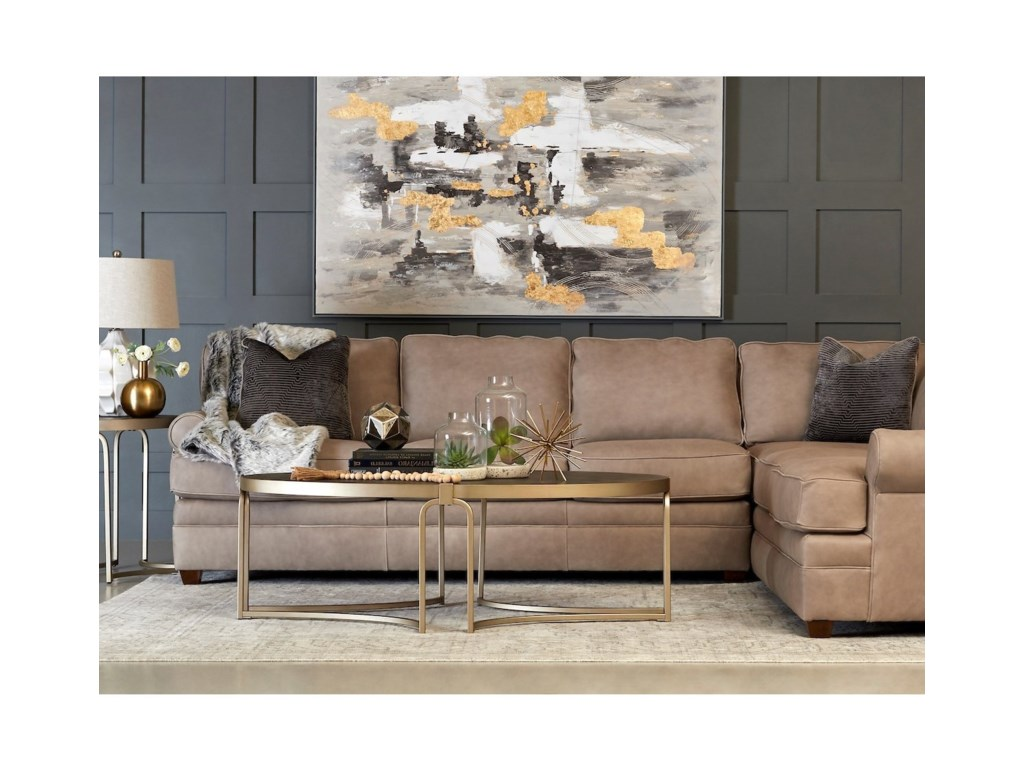 Klaussner Living Your Way2-Piece Sectional Sofa