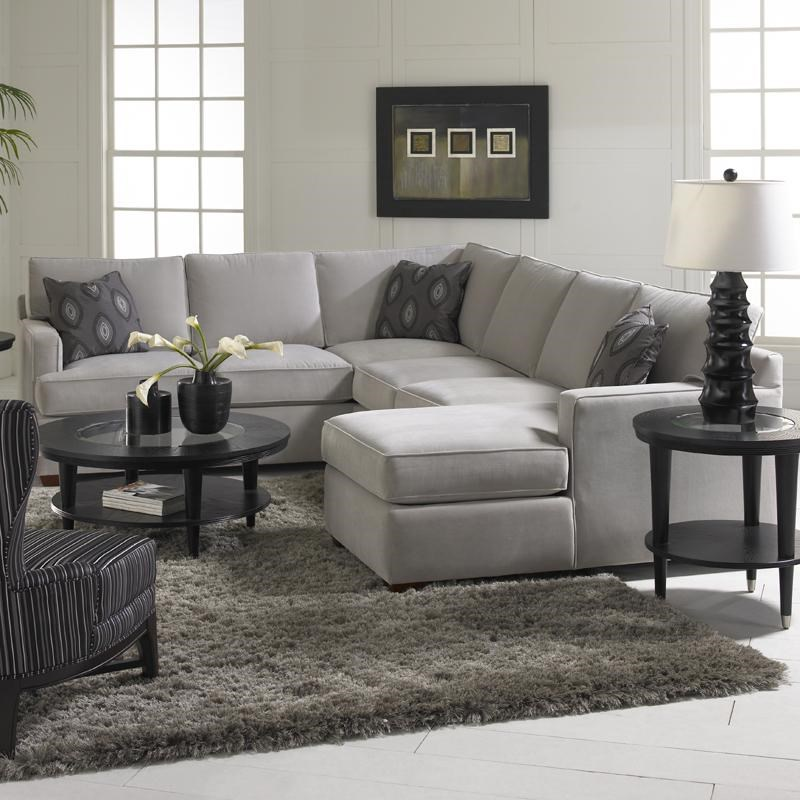 Loomis Sectional Sofa Group with Chaise Lounge by Klaussner  sc 1 st  Dunk u0026 Bright Furniture : klaussner sectional sofa - Sectionals, Sofas & Couches