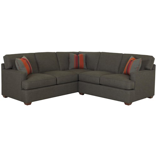 Klaussner Loomis 2 Piece Sectional Sofa Group