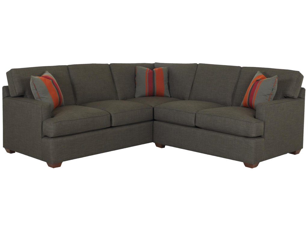 Klaussner Loomis2 Piece Sectional