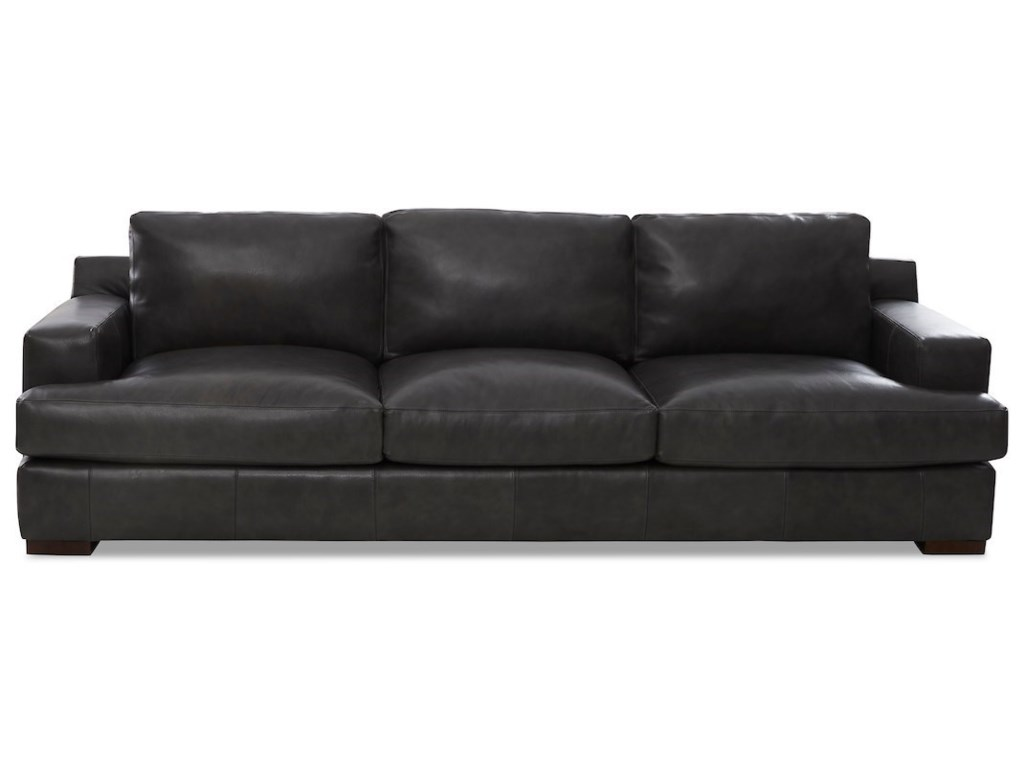 Contemporary Extra Large Leather Sofa