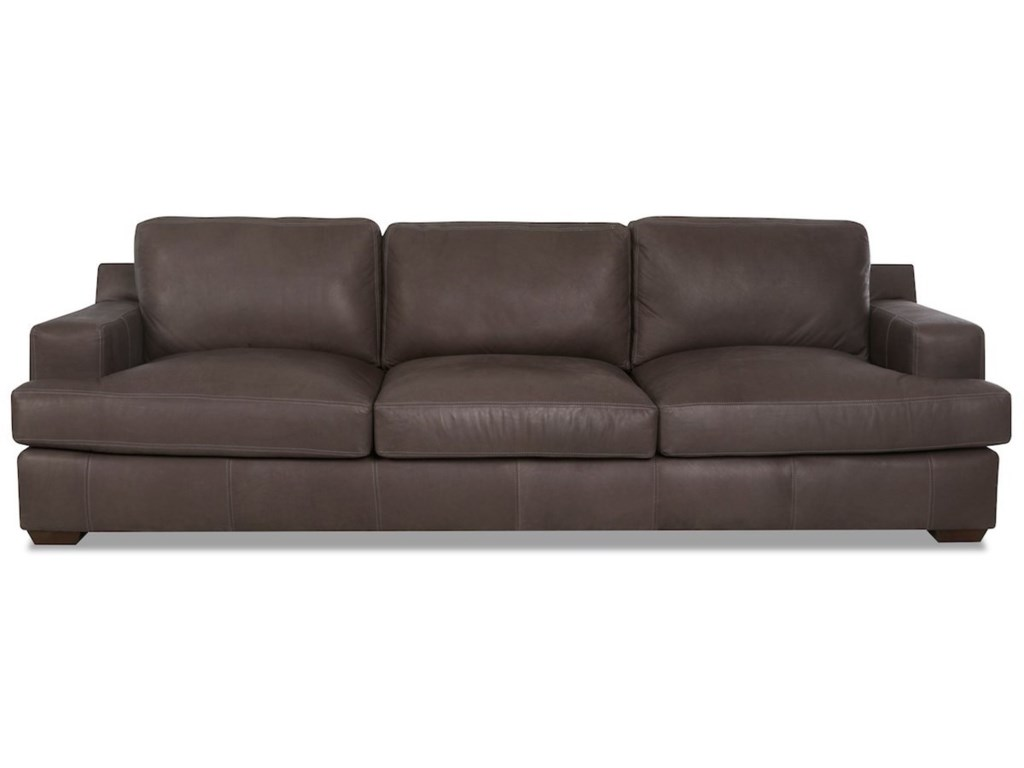 Extra Large Leather Sofa
