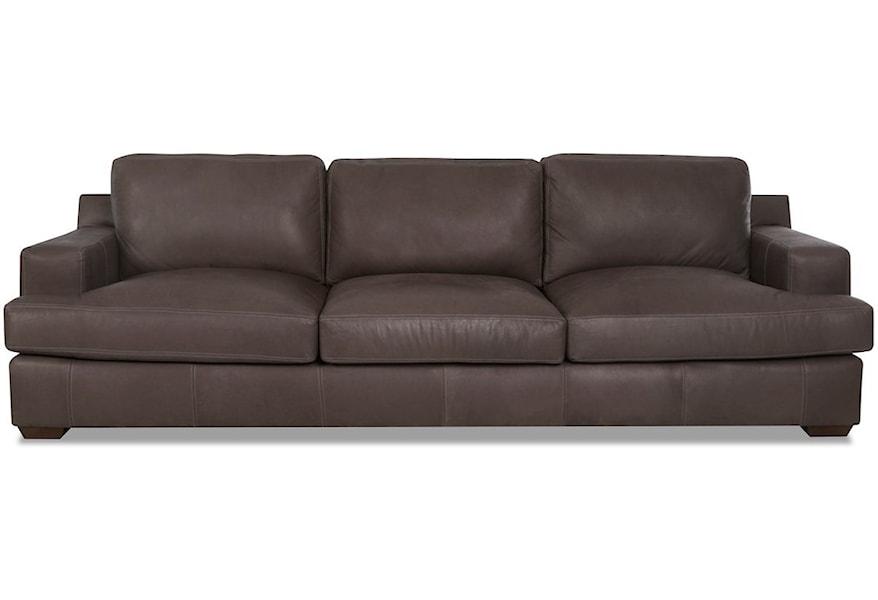Extra Large Leather Sofa