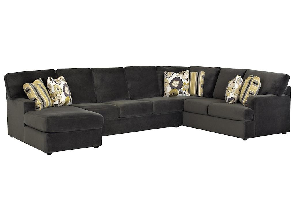 Klaussner Maclin K91500Sectional Sofa