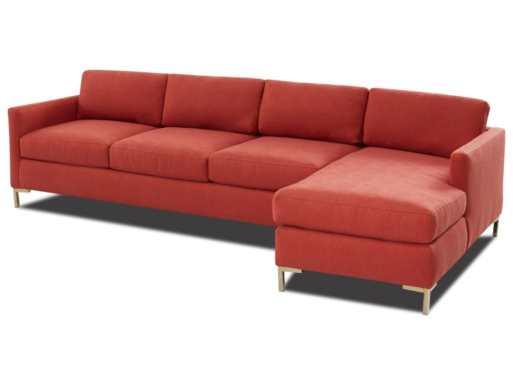 Elliston Place Marisol4-Seat Sectional Sofa w/ LAF Chaise
