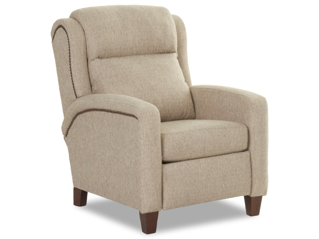 Elliston Place MasonPower High Leg Reclining Chair w/ Nailheads