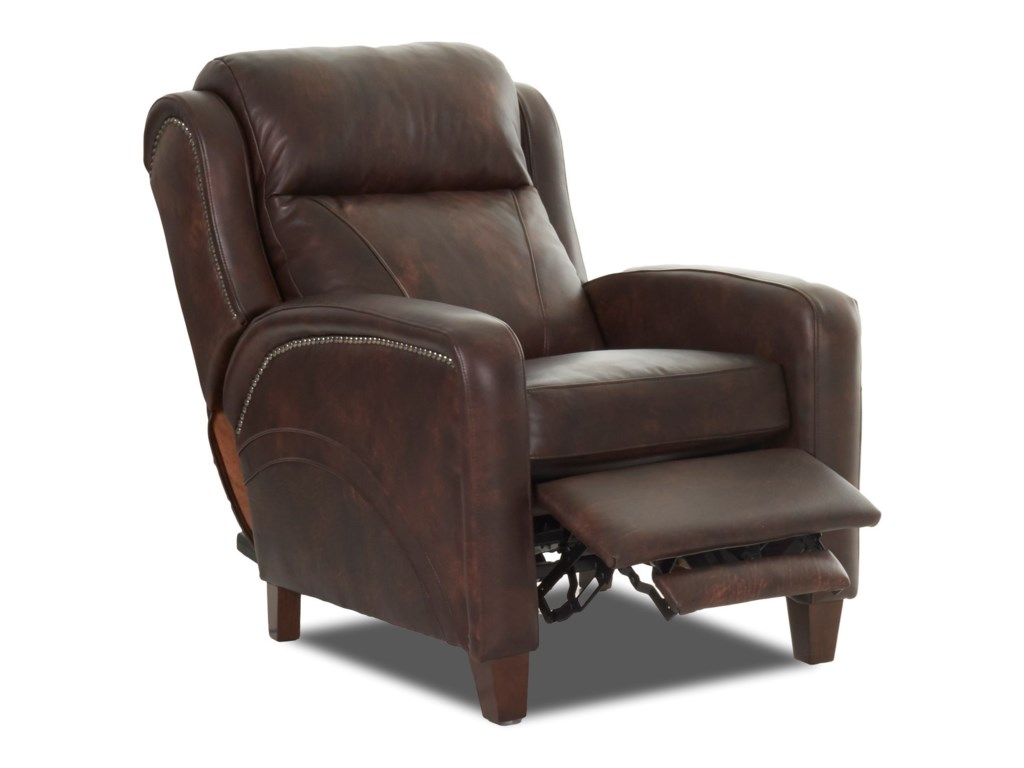 Recliner shown may not represent exact features indicated