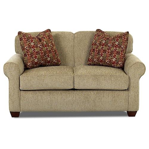 Klaussner Mayhew Oversized Twin Innerspring Sleeper Chair
