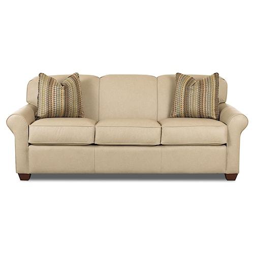 Klaussner Mayhew Innerspring Queen Sleeper Sofa