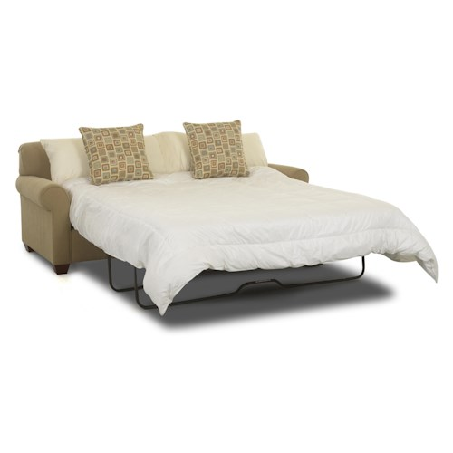 Klaussner Mayhew Air Coil Queen Sleeper Sofa