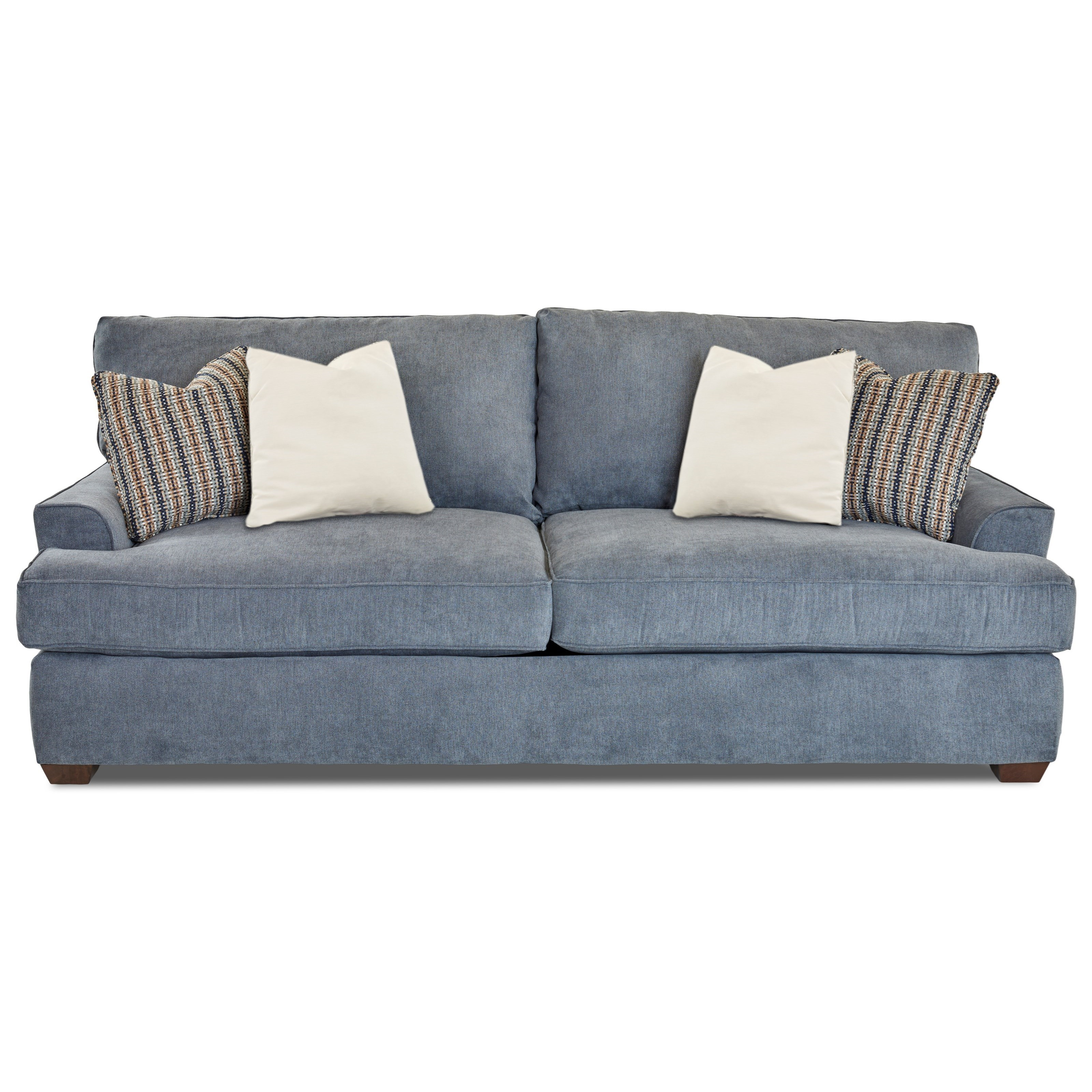 Klaussner McMillan Casual Two Seat Sofa With Extra Deep Seats | Colderu0027s  Furniture And Appliance | Sofas