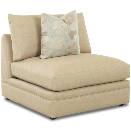 Klaussner Melrose Place Armless Chair
