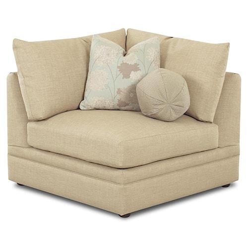 Klaussner Melrose Place Corner Chair