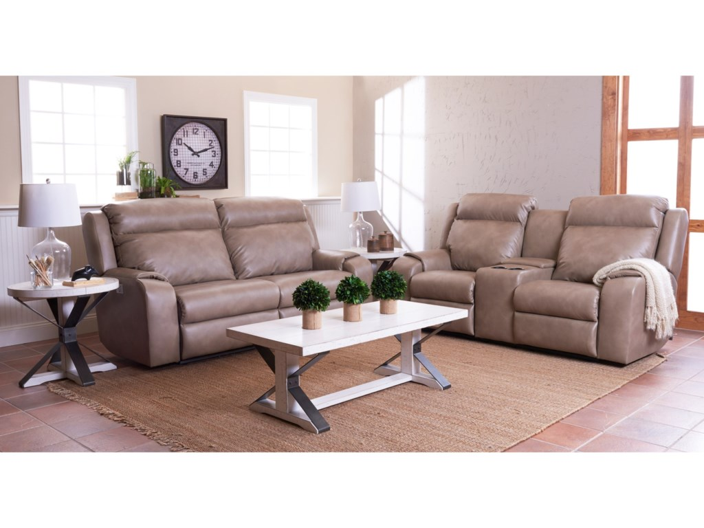 Klaussner MerlinReclining Living Room Group