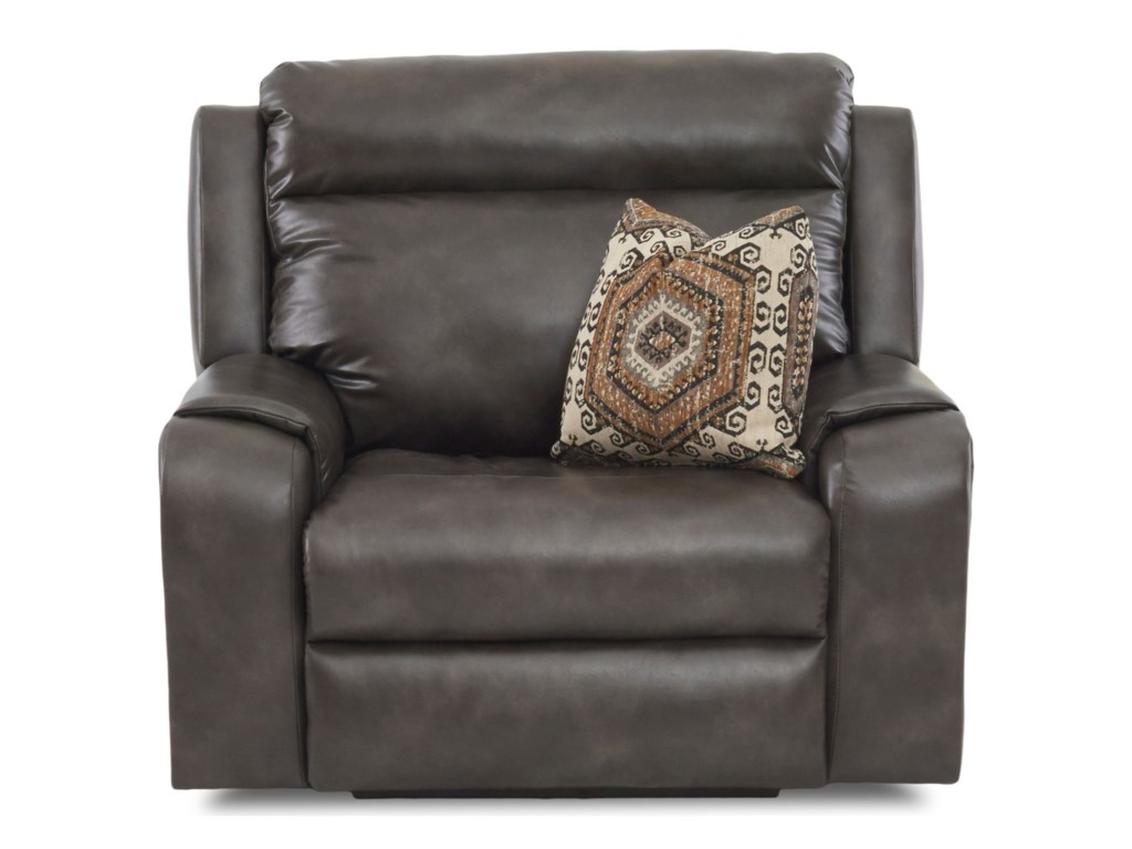 Elliston Place MerlinPower Recliner w/ Pwr Head & Toss Pillow