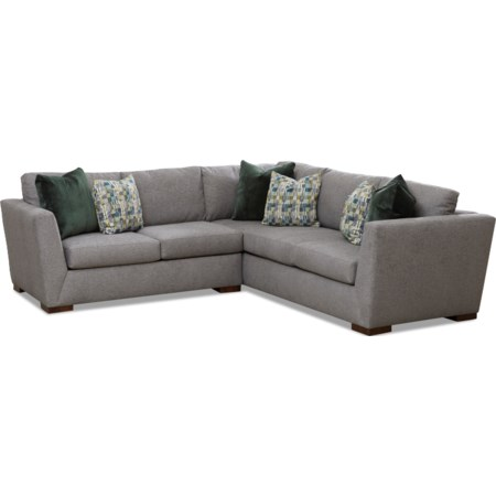 2-Piece Sectional with Left Arm Loveseat