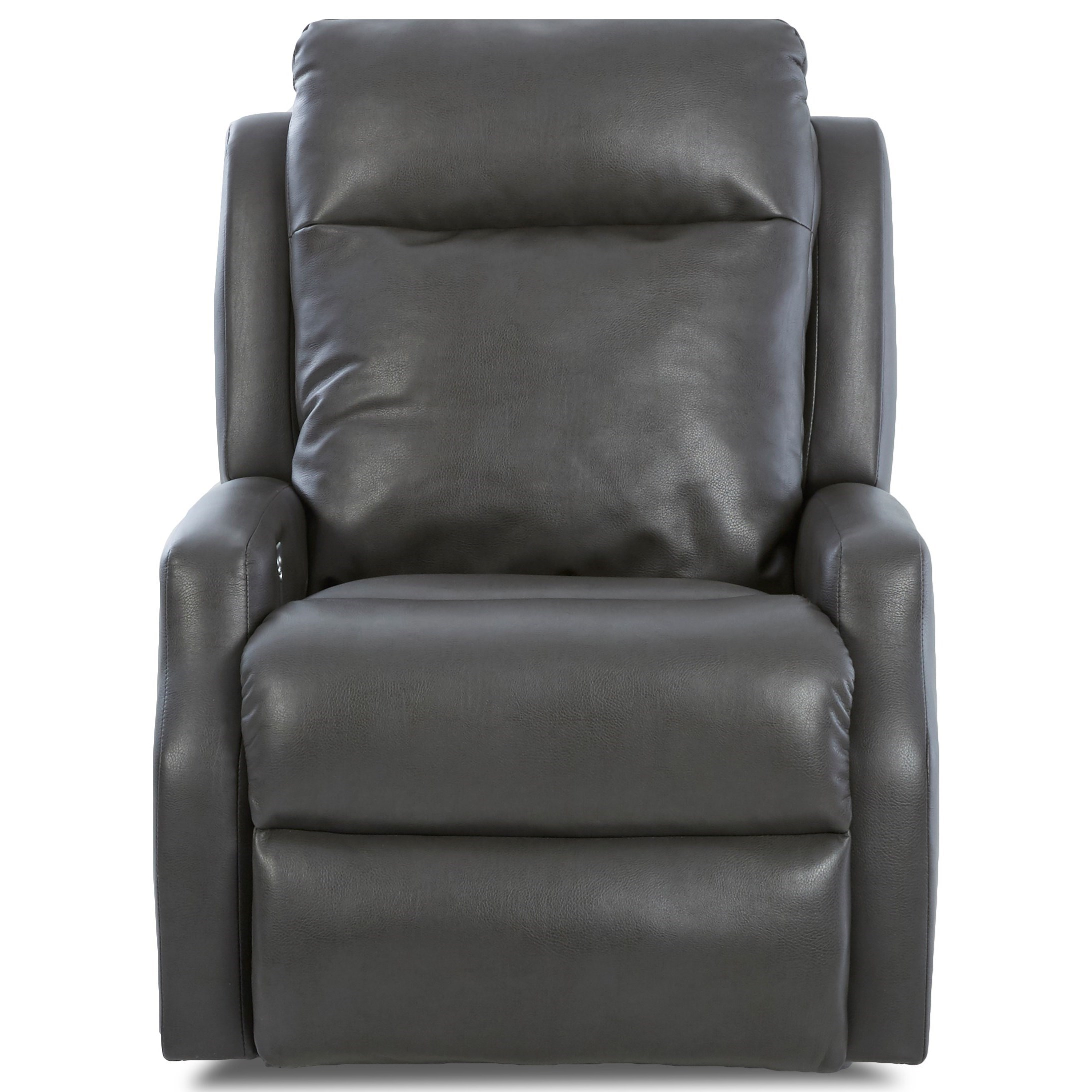 Klaussner Mirra Contemporary Power Reclining Chair With Power Headrest And  USB Charging Port