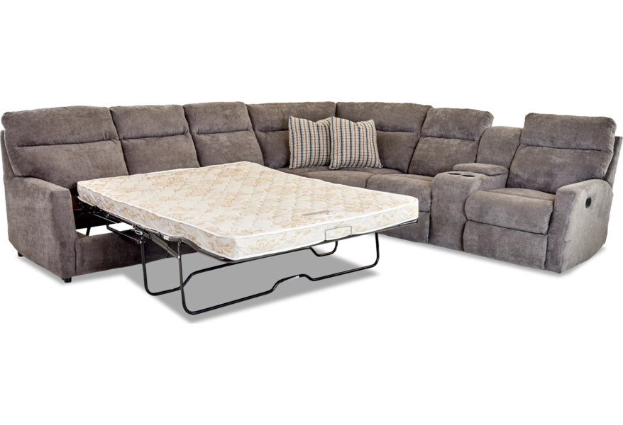 5 Seat Reclining Sectional Sofa