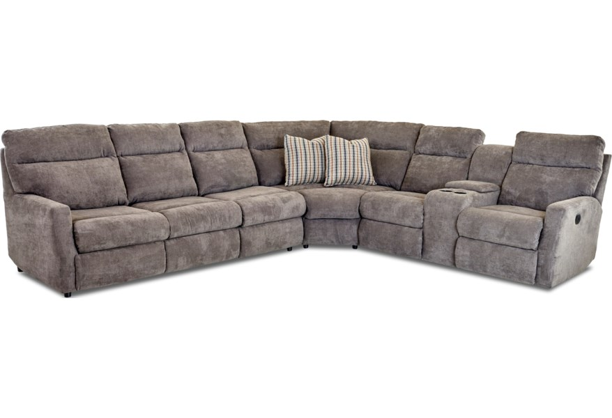 Daphne 5 Seat Reclining Sectional Sofa