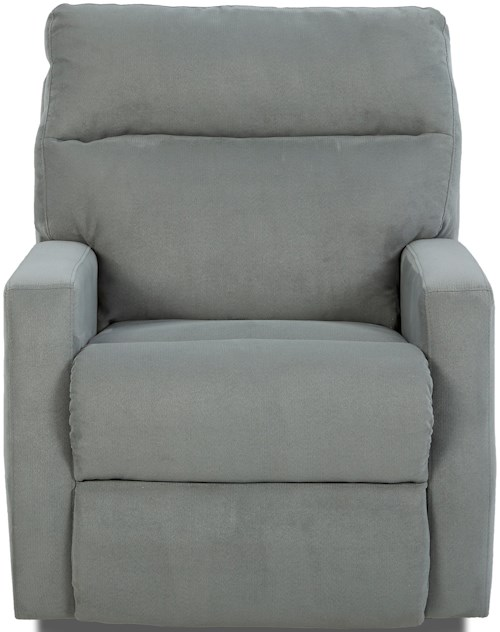 Klaussner Monticello Power Reclining Chair with Soft Track Arms