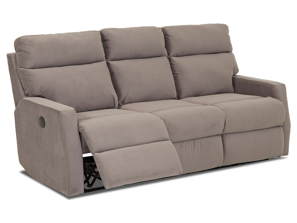 Simple Elegance DaphneReclining Sofa