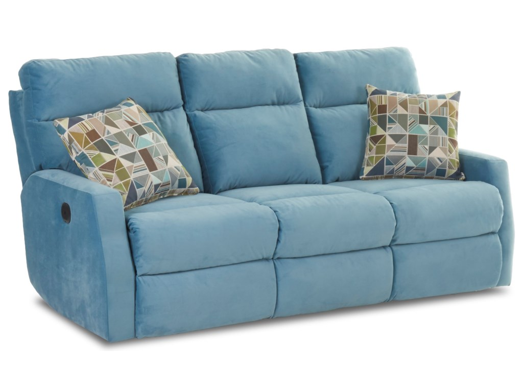 Elliston Place DaphnePower Reclining Sofa w/ Pillows