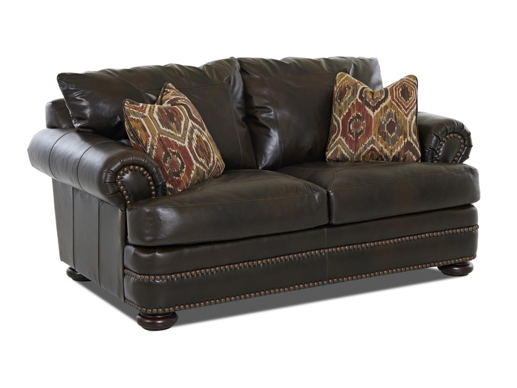 Klaussner MontezumaLeather Loveseat
