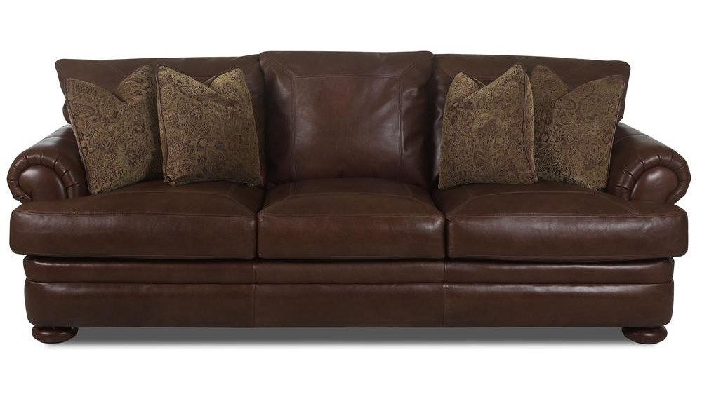 Klaussner MontezumaLeather Sofa